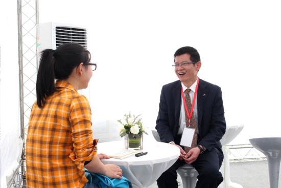 本站编辑正在访问广汽传祺贵州贵源店总经理 陈展雄