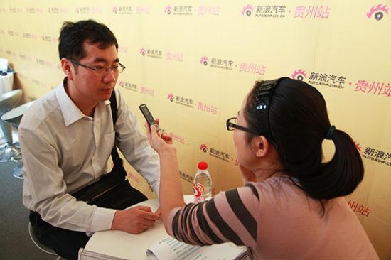 新浪微专访 江西昌河汽车销售公司贵州大区首席汪国华