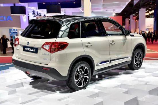 新款铃木维特拉SUV亮相巴黎车展高清图片